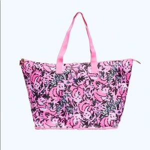 Lilly Pulitzer Getaway Packable Tote NWT's